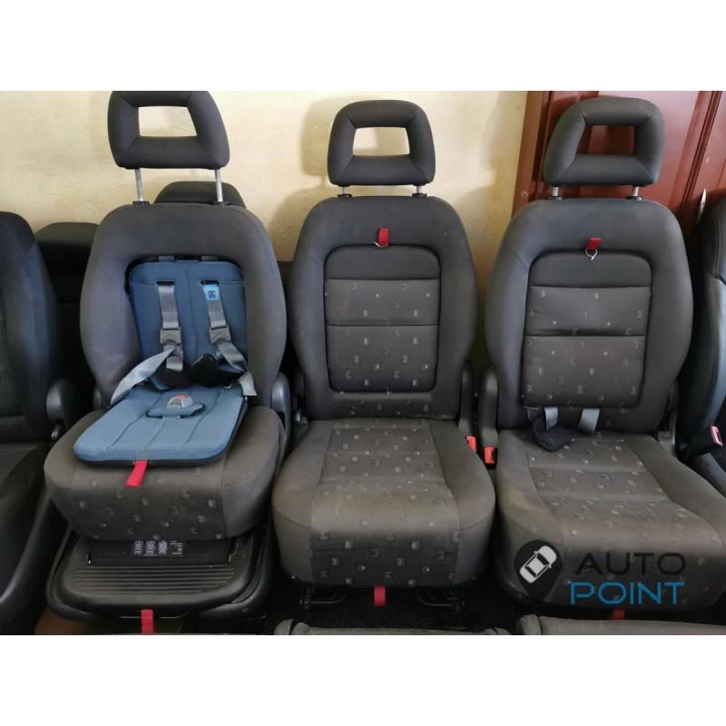 VW Sharan - детские сиденья трансформеры
