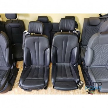 BMW 6 F12 - кожаный салон