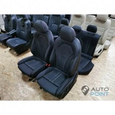 BMW5 G30 - кожаный салон