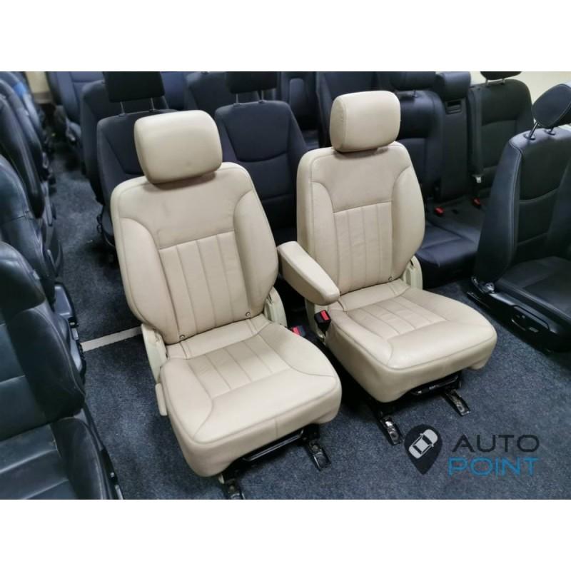 Mercedes R-class - сиденья трансформеры