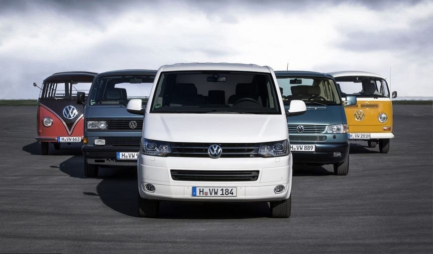 Какие сиденья подходят на VW Transporter