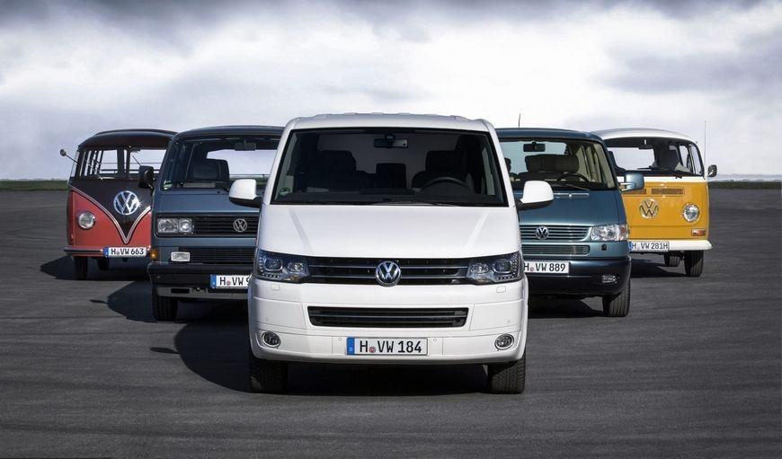 Які сидіння підходять на VW Transporter